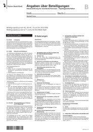 Angaben über Beteiligungen - Steuerverwaltung Basel-Stadt