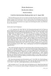 Direkte Bundessteuer Beschwerdeverfahren Kostenvorschuss Urteil ...
