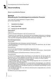 Steuerverwaltung Basel-Stadt - Kanton Basel-Stadt