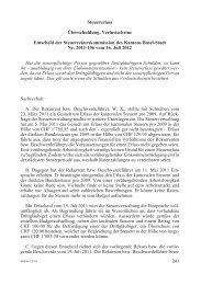 BStPra 5/2013 241-245 - Steuerverwaltung Basel-Stadt