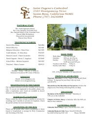 pastoral staff telephone numbers parish office hours websites ...