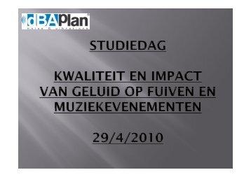 Presentatie van Guy Putzeys (pdf) - Steunpunt Jeugd