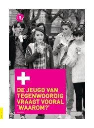 De jeugd is tegenwoordig (pdf) - Steunpunt Jeugd