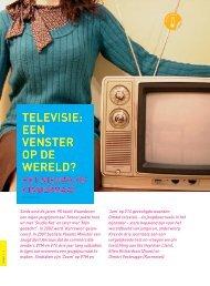 Televisie: een venster op de wereld (pdf, 696KB - Steunpunt Jeugd