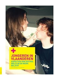 Jongeren in Vlaanderen (pdf, 4124KB) - Steunpunt Jeugd