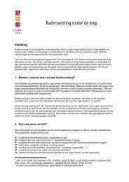 Kadervorming onder de loep (pdf, 180KB) - Steunpunt Jeugd