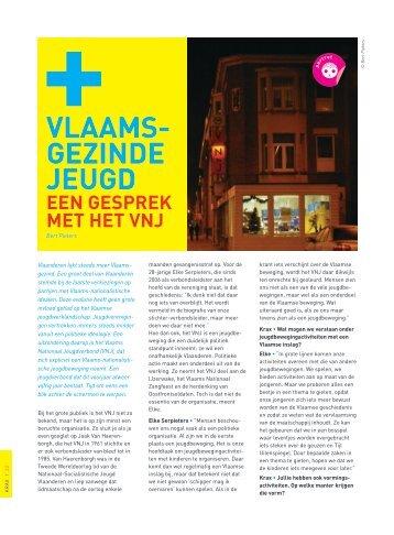 Vlaamsgezinde Jeugd (pdf) - Steunpunt Jeugd