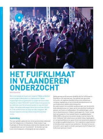 Het fuifklimaat in Vlaanderen onderzocht (pdf) - Steunpunt Jeugd