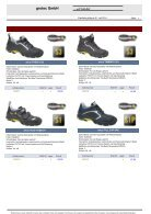 grotec GmbH Schuhe Lagerprogramm - Page 3