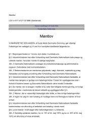 Møntlov - Danmarks Nationalbank