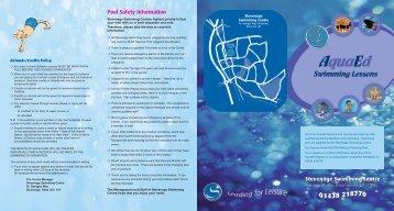 swimming lesson leaflet 2006.qxp - Stevenage Leisure