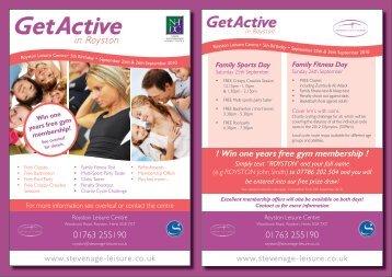 GetActive - Stevenage Leisure