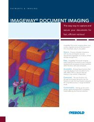Imageway® Document Imaging - Diebold