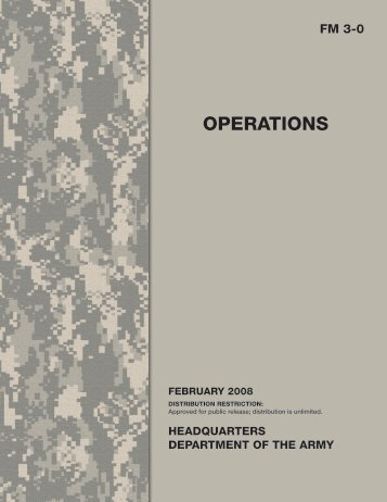 FM 3-0. Operations - Federation of American Scientists