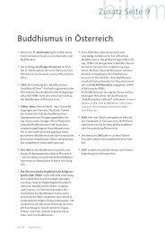 Buddhismus in Österreich Zusatz Seite 9