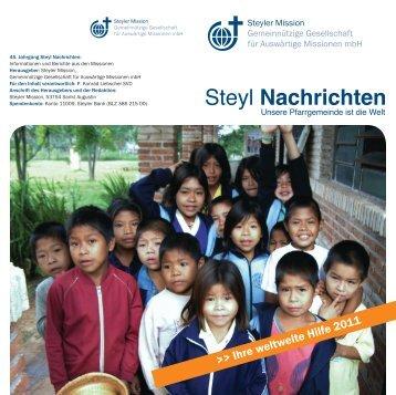 Steyl Nachrichten - Steyler Mission