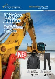 Winter- Aktion - Steyr-Werner