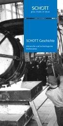 SCHOTT – Historische und Technologische Meilensteine