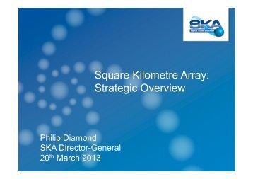 SKA Strategic Overview - Philip Diamond