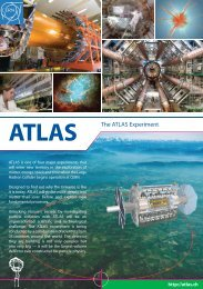 ATLAS The ATLAS Experiment