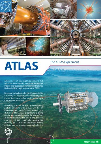 ATLAS The ATLAS Experiment