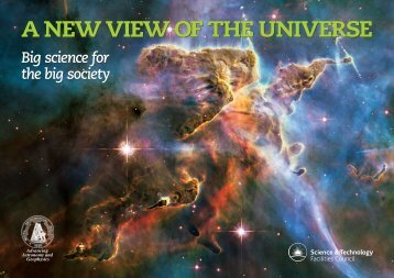 A new view of the Universe - Science & Technology Facilities Council