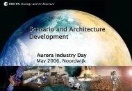 Scenario and Architecture Development Scenario and Architecture ...