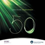 Lasers in our lives – 50 years of impact - Science & Technology ...