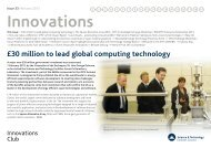 Innovations - Science & Technology Facilities Council