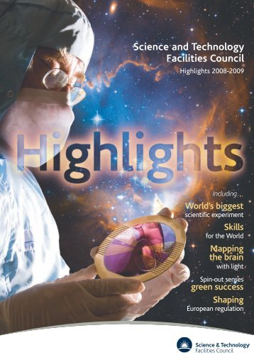 Highlights 2008 - 2009 - Science & Technology Facilities Council