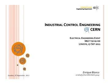 Enrique Blanco, CERN - STFC