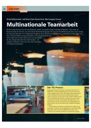 Multinationale Teamarbeit - Gute Referenzen und ... - STG Cottbus