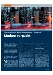 Modern verpackt - Prozessoptimierung und ... - STG Cottbus