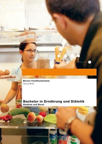Bachelor in Ernährung und Diätetik - Spital Thurgau AG