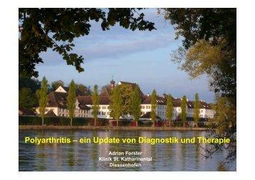 Polyarthritis – ein Update von Diagnostik und Therapie