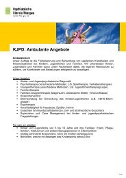 KJPD: Ambulante Angebote - Spital Thurgau AG