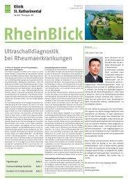 Rheinblick im KSK: 2012, Ausgabe 3 - Spital Thurgau AG