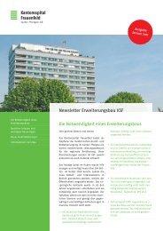 Newsletter Erweiterungsbau KSF, Januar 2011 - Spital Thurgau AG