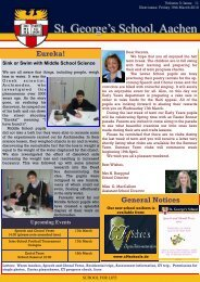 week 22 - newsletter - St. George's The English International School
