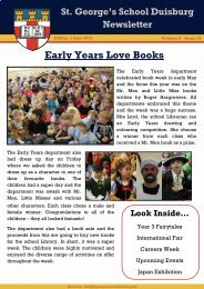 Early Years Love Books - St. George's The English International ...