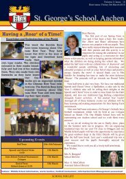 Newsletter week 20 - St. George's The English International School