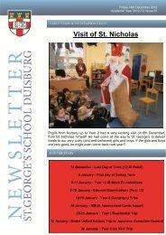 Visit of St. Nicholas - St. George's The English International School