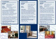 London Central hotel fact sheet - St Giles International
