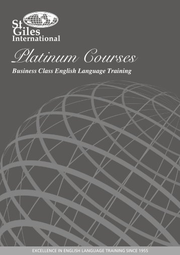 Download brochure - St Giles International