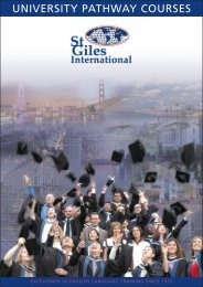 Download the PDF version - St Giles International