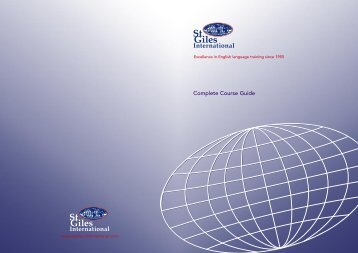 Complete Course Guide - St Giles International