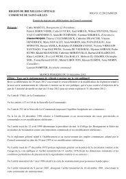 REGION DE BRUXELLES-CAPITALE COMMUNE DE SAINT ...