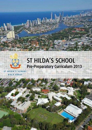 HANDBOOK - Pre Prep Curriculum Handbook ... - St Hildas School