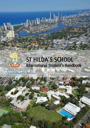 Overseas Student Handbook - St Hildas School