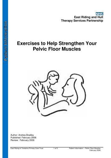 pelvic floor exercises - v pharmacy
